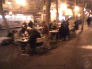 Street corner chess